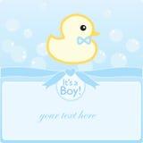 Het is een jongen! royalty-vrije stock foto's