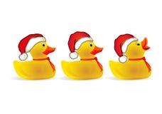 Het eendje van Kerstmis Royalty-vrije Stock Foto