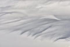 Het eenvormige wolken rollen. Royalty-vrije Stock Foto