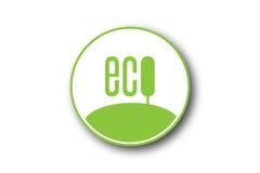 Het eenvoudige concept van de ecologie vector illustratie