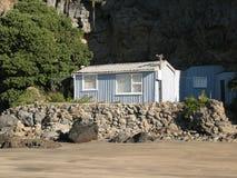 Het eenvoudige Huis van het Strand Stock Afbeeldingen