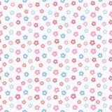 Het eenvoudige patroon van de baby leuke pastelkleur Royalty-vrije Stock Foto
