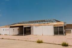 Het eerste gebouw de Koning Abdullah University van Wetenschap en Technologiecampus begon met, Thuwal, Saudi-Arabië royalty-vrije stock afbeeldingen