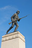 Het eerste Monument van het Regiment van Minnesota in Gettysburg Royalty-vrije Stock Foto's