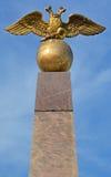 Het eerste openbare beeldhouwwerk van Helsinki, Stock Foto's