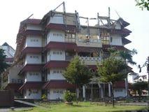 Het effect van de aardbeving Stock Afbeeldingen