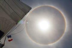 Het effect van de halo op oceaan 2 Royalty-vrije Stock Fotografie