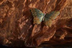 Het effect van de vlinder Stock Fotografie