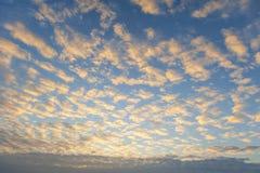 Het effect van de wolkenhemel Royalty-vrije Stock Fotografie