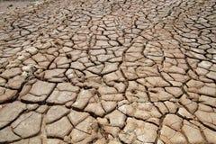 Het effect van klimaatverandering, gemaakt tot droog land, watertekorten part5 royalty-vrije stock afbeelding