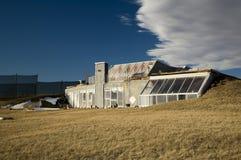 Het efficiënte huis van de energie Royalty-vrije Stock Fotografie