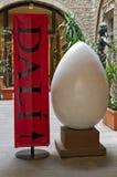 Het ei representatief voor Dali Royalty-vrije Stock Afbeeldingen