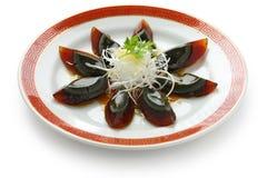 Het ei van de eeuw, Chinees voedsel Stock Foto's