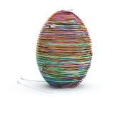 Het ei van de kabel Stock Foto