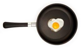 Het ei van Fryed Royalty-vrije Stock Foto