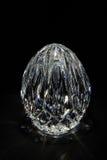 Het ei van het kristal stock foto's