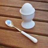 Het ei van het ontbijt Stock Foto's