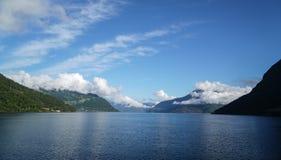 Het Eidfjord-Gebied Royalty-vrije Stock Foto