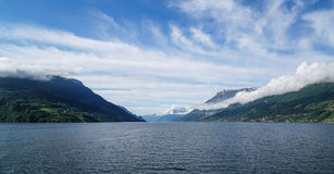 Het Eidfjord-Gebied Royalty-vrije Stock Fotografie