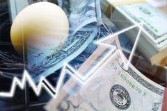 Het Eiinvesteringen van het pensioneringsnest het Groeien stock afbeeldingen