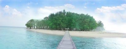 Het eiland Stock Foto's