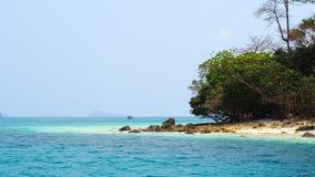 Het eiland Stock Fotografie