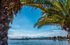 Het Eiland Aegina, Athene, Griekenland Royalty-vrije Stock Foto's