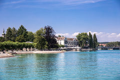 Het eiland Constance, Duitsland van hoteldominicanen Royalty-vrije Stock Foto's