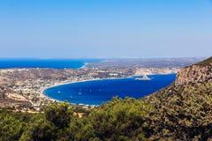 Het eiland Griekenland van Kefaloskos Stock Afbeeldingen
