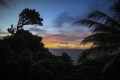 Het Eiland Hispaniola, Dominicaanse Republiek Mening van isla stock afbeeldingen