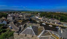 Het Eiland Man het Verenigd Koninkrijk stock foto's