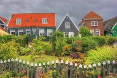Het Eiland Marken, Holland, Nederland Stock Foto