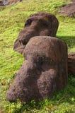 Het Eiland Moai van Pasen royalty-vrije stock foto