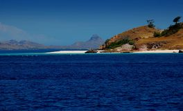 Het eiland nationaal park van Komodo Stock Foto