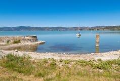 Het eiland Polvese Stock Fotografie