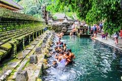 Het Eiland Pura Tirta Empul van Indonesië Bali royalty-vrije stock afbeelding