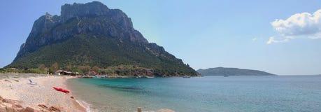Het eiland Sardinige van Tavolara stock foto