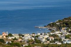 Het Eiland Syros Royalty-vrije Stock Afbeelding