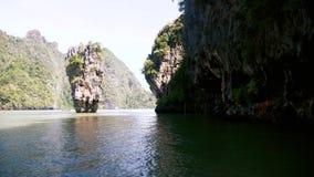 Het Eiland Thailand van James Bond stock videobeelden