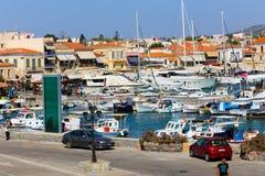 Het Eiland van Aegina Stock Foto's