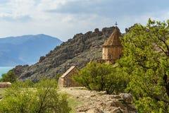 Het Eiland van Akdamar in Van Lake Turkije stock fotografie