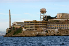 Het Eiland van Alcatraz, San Francisco, Californië. Royalty-vrije Stock Foto's
