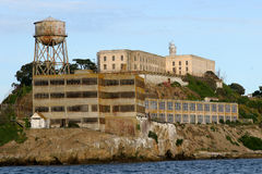 Het Eiland van Alcatraz, San Francisco, Californië. royalty-vrije stock fotografie