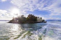 Het Eiland van Alcatraz, San Francisco, Californië Stock Afbeelding
