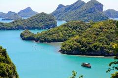 Het Eiland van Angtong Stock Foto's