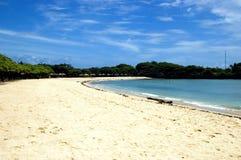 Het Eiland van Bali - het strand van Nusa Dua Stock Fotografie