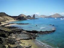Het Eiland van Bartolome, de Galapagos. Stock Fotografie