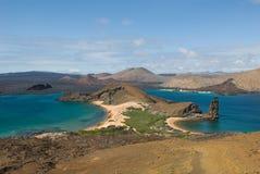 Het eiland van Bartolome, de Galapagos Stock Fotografie