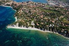 Het eiland van bianco-Elba van Capo Royalty-vrije Stock Fotografie