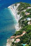 Het eiland van bianco-Elba van Capo Stock Afbeelding